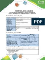 Guía de Actividades y Rúbrica de Evaluación Paso 4. Vectores Virales en Terapia Génica y Vacunación
