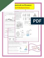 Pressure- Yr 8- Checkpoint Science
