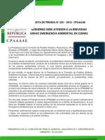 COMISIÓN DE PUEBLOS ATIENDE PROBLEMÁTICA AMBIENTAL EN HUALGAYOC