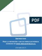 88.- Instructivo Firma Electrónica (Versión Octubre 2017)