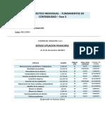 FUNDAMENTOS de CONTABILIDAD Estado de Situacion Financiera