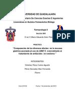 Reporte Farma Aines y Antiacidos Part 1