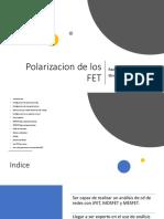 27 - Polarizacion de Los FET