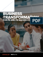 Enabling Business Transformation with Netsuite