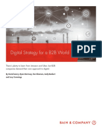 BAIN BRIEF-Digital Strategy for a B2B World