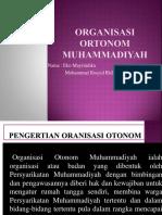 ORGANISASI ORTONOM muhammadiyah