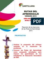 Matemática_primaria_rutas de Aprendizaje 2015
