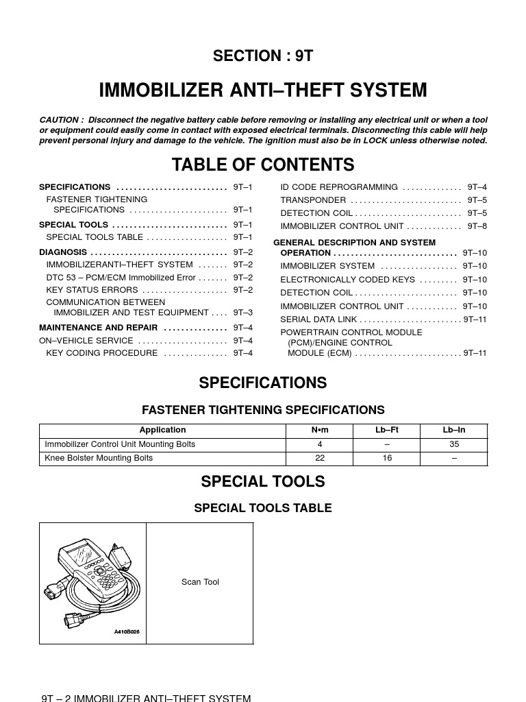 Daewoo Lanos Immobiliser Wiring Diagram 39 Images Car 1509980018 Nubira Manual Ingles Screw Automotive Technologies At Highcare