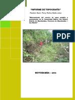 5. Informe de Topografia San Rafael