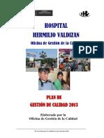 Plan Gestiondecalidad2013