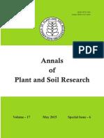 201twoarticlescoauthorAnnalsofplantandsoil-