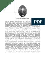 Helena Petrovna Hahn. Biografia