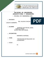 Informe de Poblacion