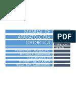 Manual de Aparatologia Ortoptica