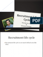 Recruitment process life cycle