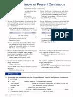 Homework 2 Present Simple vs Present Continuous