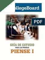 Guía de estudio - PIENSE I