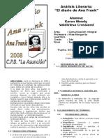 Análisis EL DIARIO DE ANA FRANK.doc