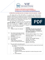 Guidelines - Project Report Format - Final Report - Revised