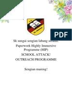 Paperwork Hip Outreach 2018