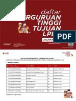Daftar Perguruan Tinggi DN Min