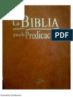 Biblia Para La Predicacion