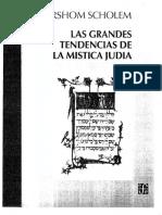 Las Grandes Tendencias de La Mistica Judia_Gershom Sholem