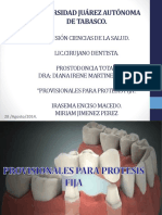 Exposicion Provisonales Para Protesis Fija Original