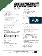 01 Algebra Factorización Mcm Mcd