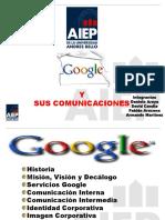 Presentación Comunicaciones Empresa Google