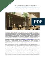 L'Architecture Et Le Design d'Intérieur