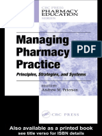 Managing Pharmacy Practice_ Principles, Strategies, And Systems-CRC Press (2004)