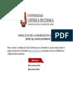 Manual InstructivoBDD