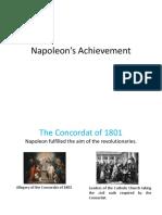 Napoleon's Achievement