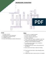 Engineering Crossword Key