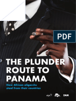 The Plunder Route to Panama