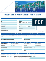 Delegate Application Form 2018 USLS