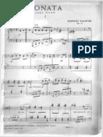 Sonata Op. 16 - Rodolfo Halffter