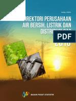 Direktori Perusahaan Air Bersih Listrik Dan Distribusi Gas 2016