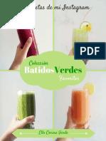 Colección Batidos Verdes Favoritos