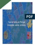 Tipos de Familia Em Portugal