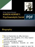 Horneystheory PDF