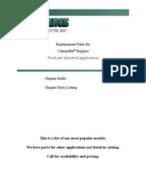 Catalog Cat   Piston   Cylinder (Engine)