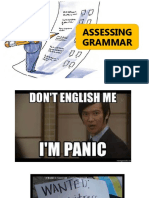 Assessing Grammar
