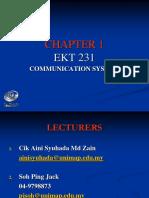 Ekt230 - Chap 1