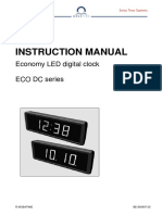 BE 800697.05 ECO DC 57 Digital Clock