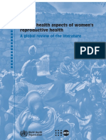 Mental Health Aspects of Women's Reproductive Health A Global Review of the Literature..pdf