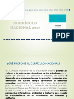 Análisis Curriculo Nacional
