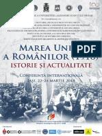 Great Union of 1918 Iasi Final Program m