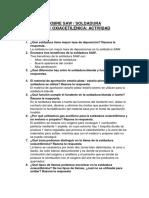 Preguntas Sobre Saw Soldadura Capilaridad Oxiacetilénica Actividad Dirigida 8